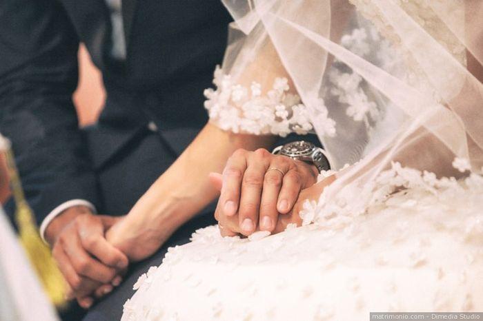 Dopo le nozze firmerai con il suo cognome? 1