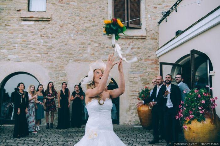 Keep or skip: lancio del bouquet 1