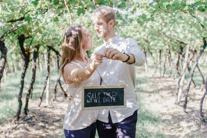 Come avete annunciato le vostre nozze? 1