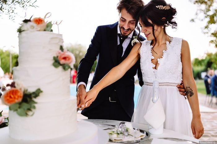 #Instantphoto: il taglio della torta 1