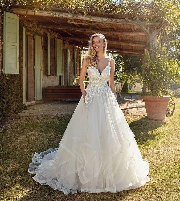 Questo abito da principessa: è adatto o no alle tue nozze? 1