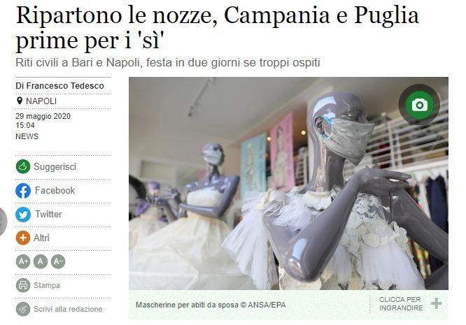 Ottime notizie per Campania e Puglia 1