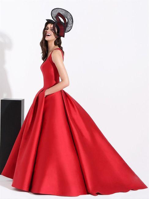 Abito da sposa in rosso: lo indossereste? 1