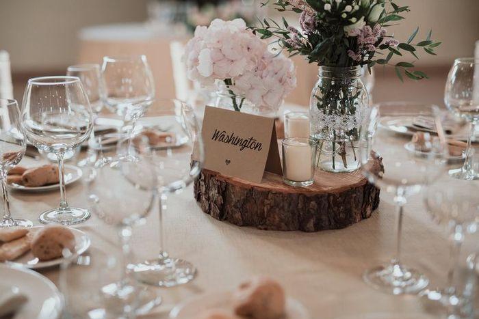 Nomi o numeri per i vostri tavoli al banchetto? 1