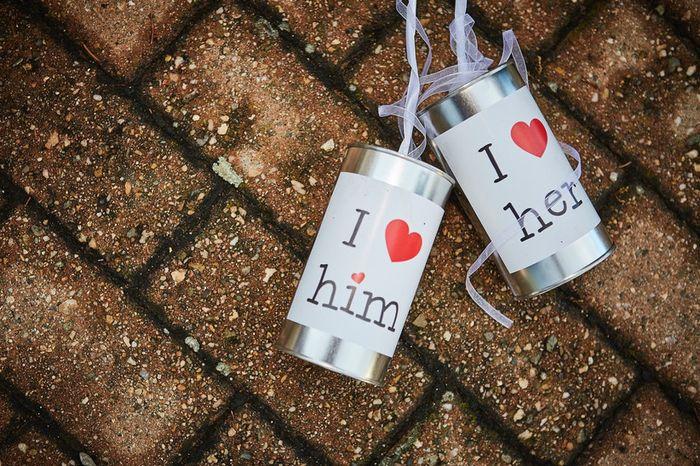 Lattine per decorare l'auto degli sposi: ti piacerebbero? 1