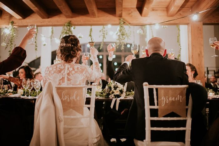 Tavolo degi sposi: soli o accompagnati? 1