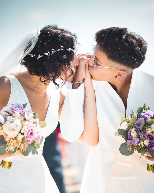 Bacio sposi: la foto con più ❤️ è... 3