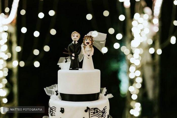 Cake topper personalizzato: sì o no? 1