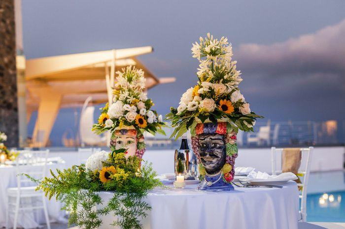 Promosso o bocciato: decorazioni tavolo sposi 1