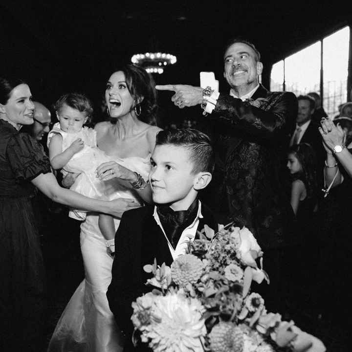 Le nozze di Jeffrey Dean Morgan e Hilarie Burton - 2