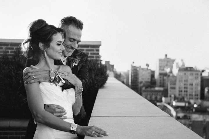 Le nozze di Jeffrey Dean Morgan e Hilarie Burton - 4
