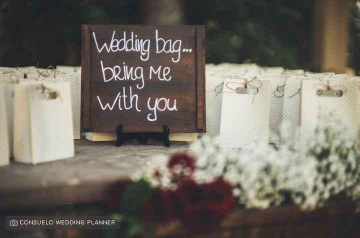 Wedding bag: ✔️ o ❌? - 1