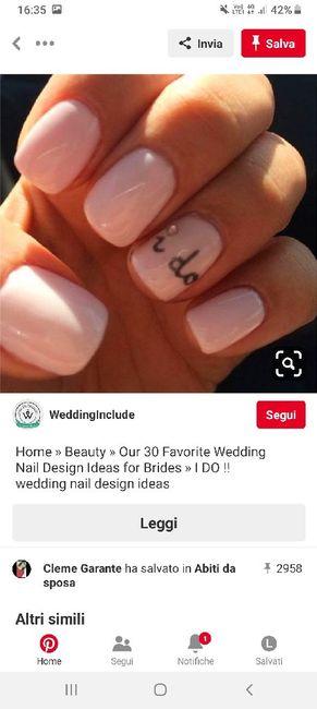 Colore smalto al matrimonio 💅🏽 - 1