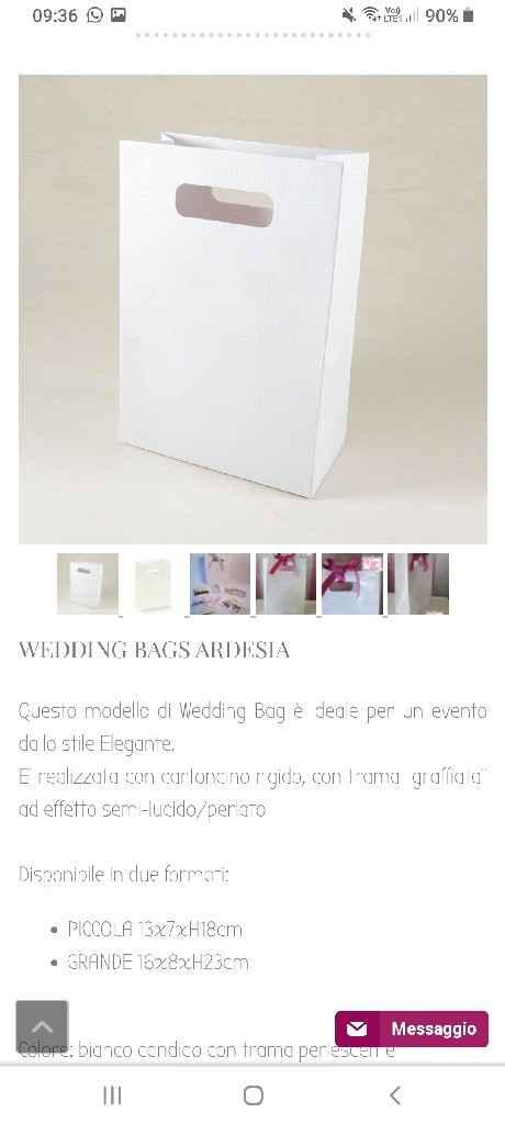 Wedding bag, le farete? - 1