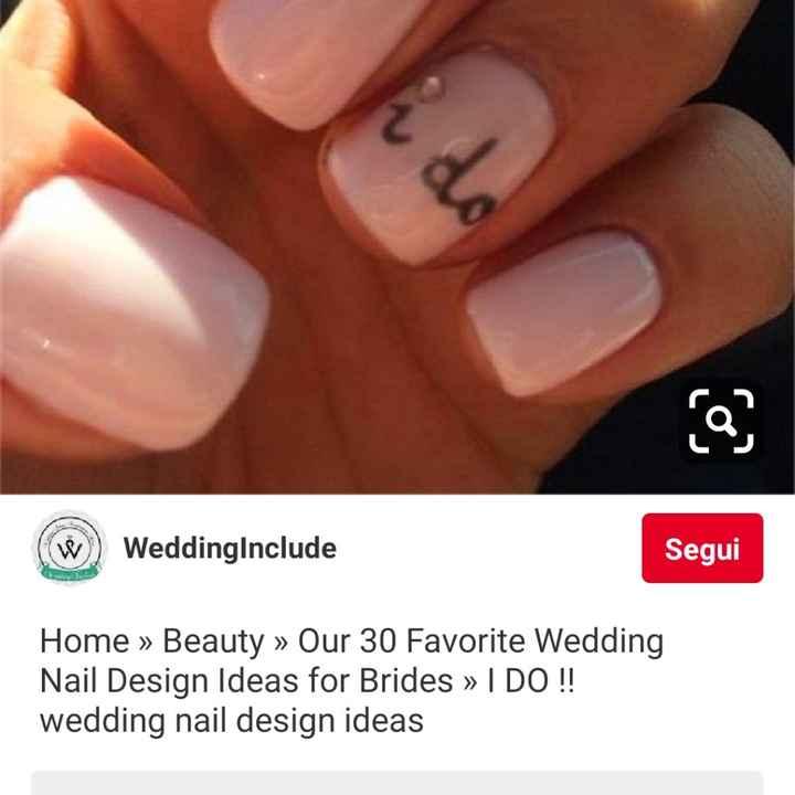 Consigli unghie sposa - 2