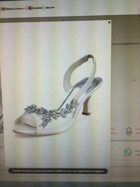 Finalmente ho trovato le mie scarpe da sposa! - 1