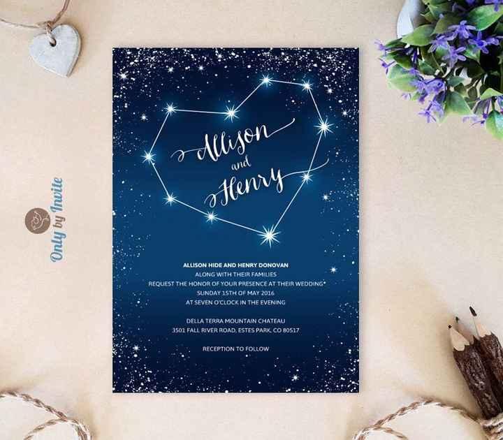Aiuto: tema nozze stelle - 3