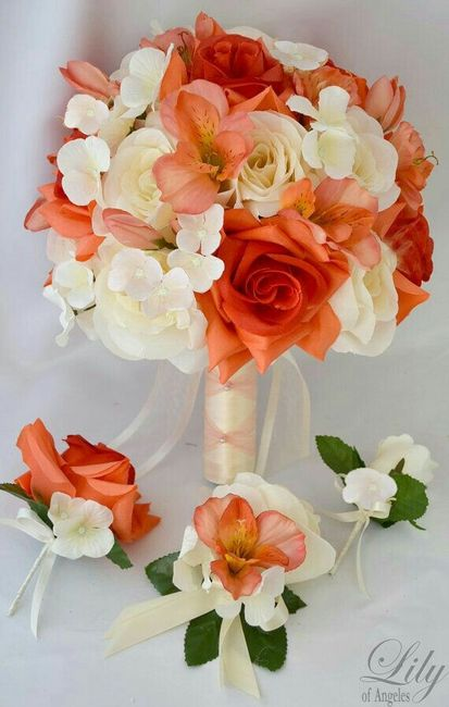 Bouquet Sposa Arancio.Bouquet Arancione Organizzazione Matrimonio Forum Matrimonio Com