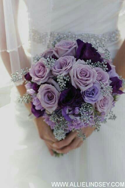 bouquet sposa viola