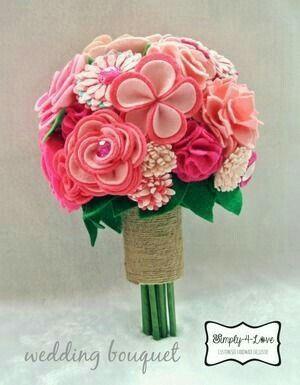 Mazzo Di Fiori Feltro.Bouquet In Feltro Organizzazione Matrimonio Forum Matrimonio Com