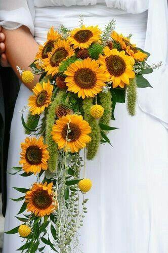 Girasoli Finti Matrimonio : Bouquet di girasoli pagina organizzazione matrimonio