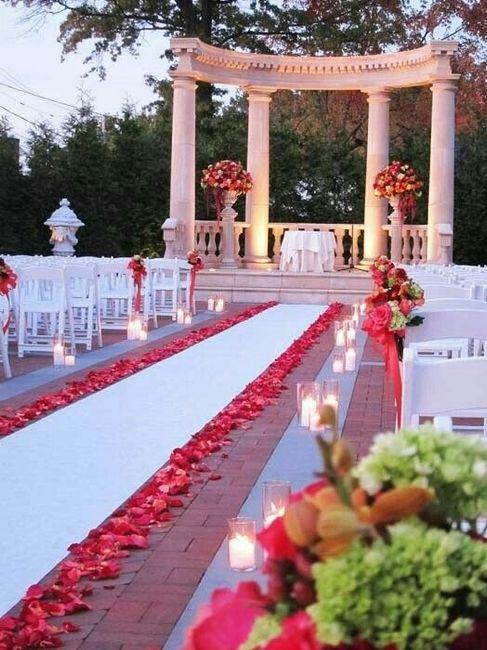 Tappeto Matrimonio Azzurro : Tappeto o petali per la navata fino all altare moda