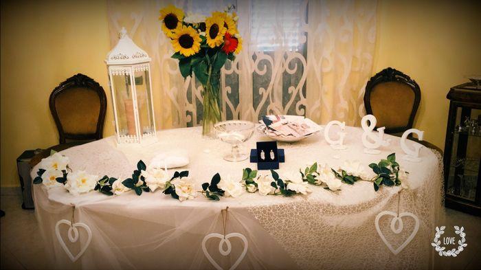 Ecco l 39 ultimo mio fai da te tavolo casa sposa fai da - Tavolo sposa casa ...