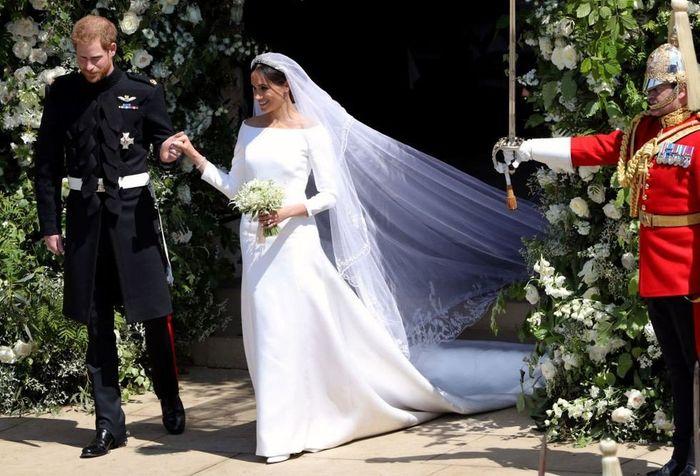 The Royal wedding - L'abito 1