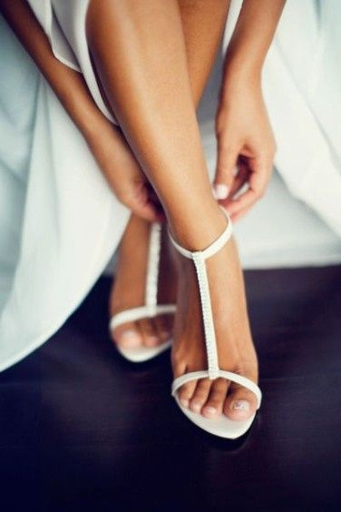 Scarpe da sposa: sandalo o open toe? 1