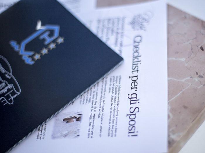 Completa la Checklist di nozze e ricevi il 🎁 di settembre! 1