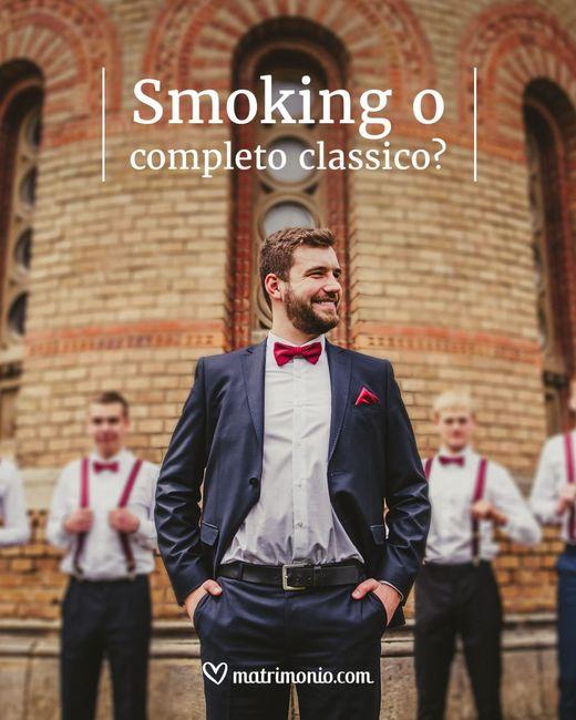 Smoking o completo classico? 1