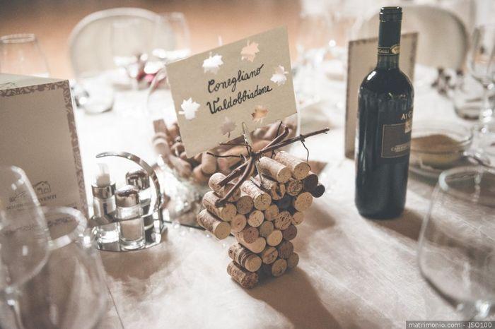 Matrimonio tema vino 2