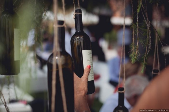 Matrimonio tema vino 3