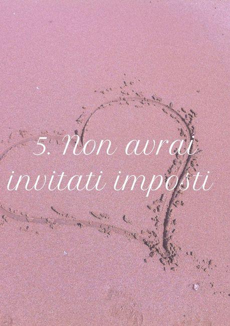 5. Non avrai invitati imposti 1