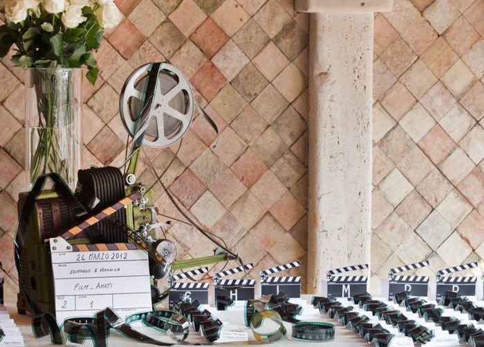Tableau du mariage cinema 7