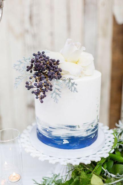Tendenza colore 2020 - la torta nuziale 4