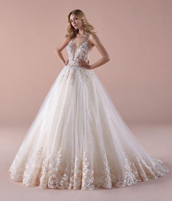 Sondaggio abito da sposa sparkling: sì o no? 1