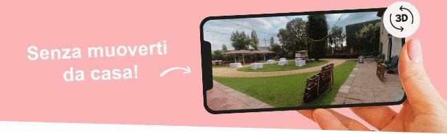 Sapevi che è possibile visitare molti spazi per i ricevimenti di nozze in modo virtuale? 2