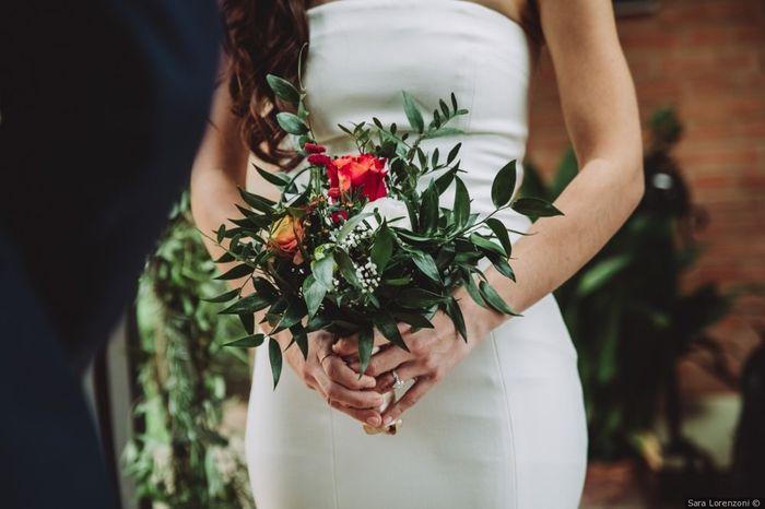 #Instantphoto: il bouquet sposa 1
