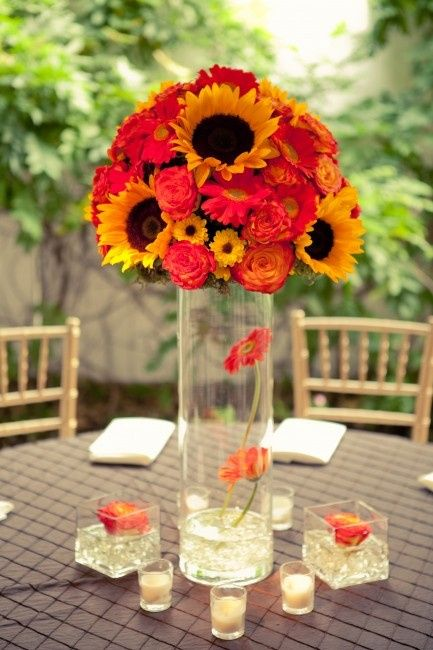 Girasoli Matrimonio Ottobre : Tema girasoli foto organizzazione matrimonio