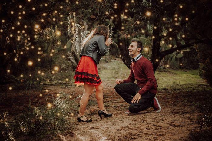 Proposta di matrimonio in una data speciale❤️ 1