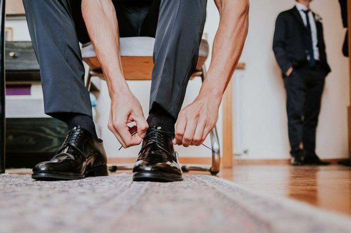 Indosseresti delle scarpe da sposo con il rialzo interno? 👞 1