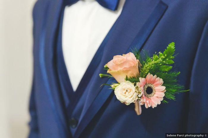 Sposi, indosserete una boutonnière o un il fazzoletto nel taschino? 1