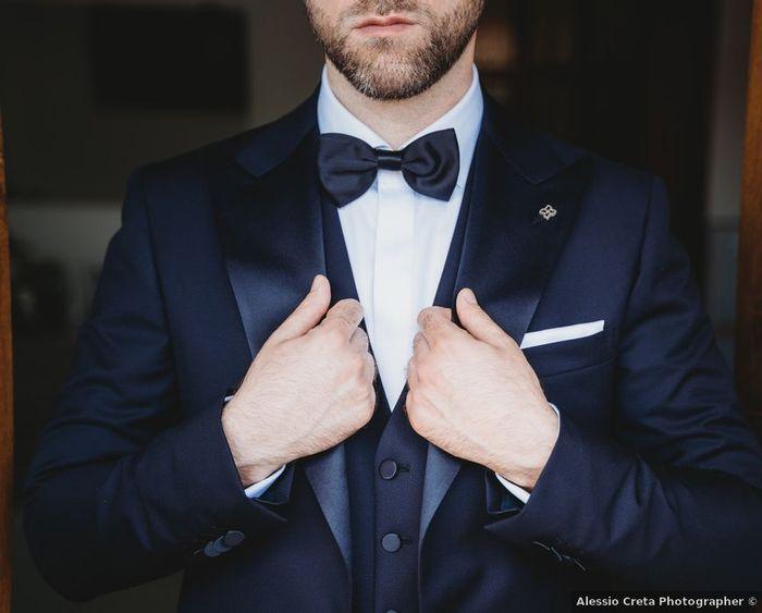 Papillon o cravatta? Lasciati ispirare dalle scelte fatte dagli sposi dei nostri Real Wedding, quale preferisci? 1