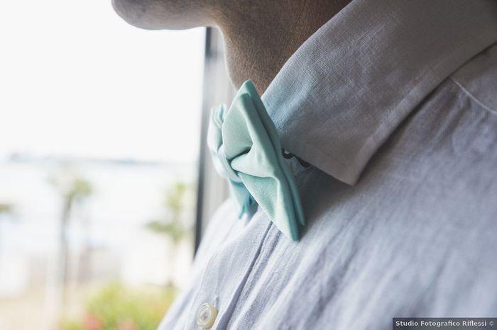 Papillon o cravatta? Lasciati ispirare dalle scelte fatte dagli sposi dei nostri Real Wedding, quale preferisci? 2