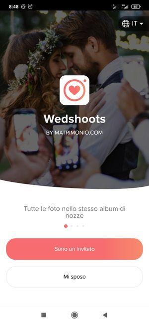 WEDSHOOTS: l'app per condividere le foto delle tue nozze! Scaricala! 4
