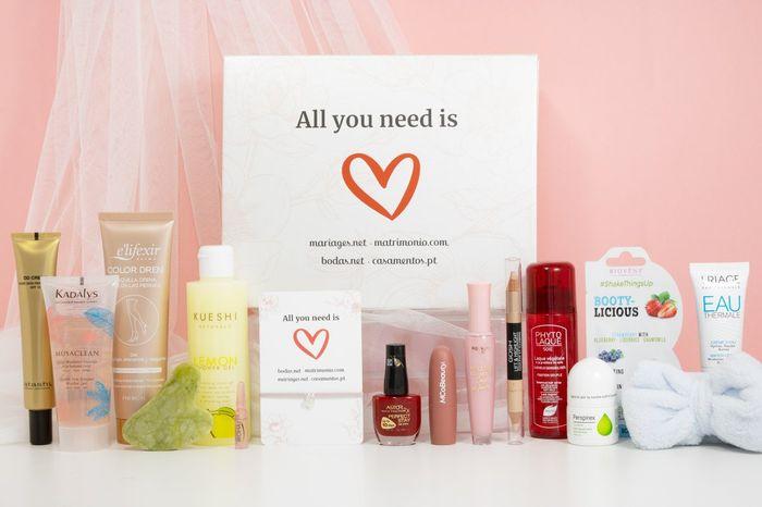 Vinci una beauty box by Matrimonio.com condividendo il tuo wedding site con i tuoi invitati 1