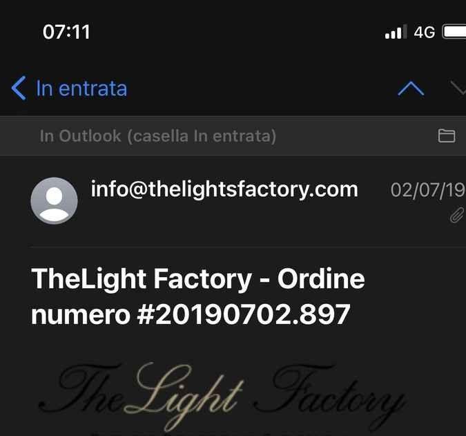 The light factory - esperienze d'acquisto? 1