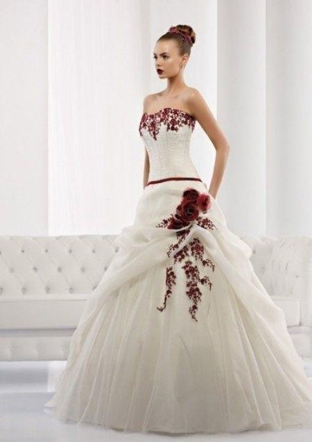 Favorito Abito da sposa bianco e rosso - Moda nozze - Forum Matrimonio.com HX37