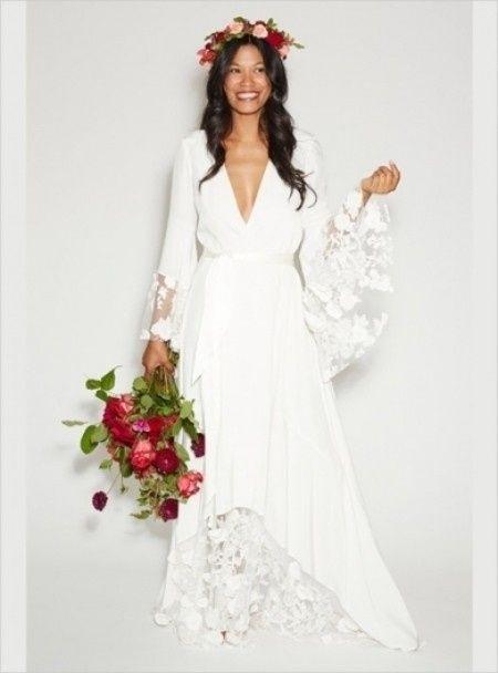 Vestiti da sposa boho chic
